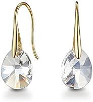 Mestige Pascal Women's Drop & Dangle Earrings with Swarovski Crystals -