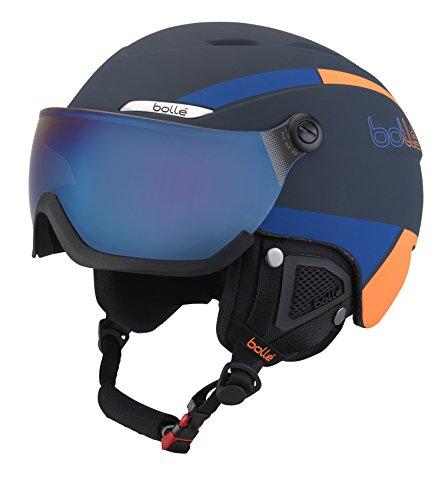 Bollé 31487 Cascos de Esquí, Unisex Adulto, Azul...