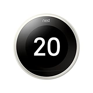 Nest Learning - Termostato Inteligente de 3 A Generación, Blanco (B0785MRPD8) | Amazon Products