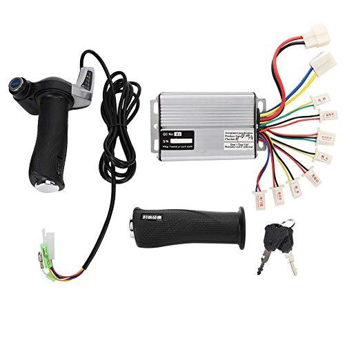 Bnineteenteam 36V 48V 1000W Motor Brushed Speed   Controller mit verriegelndem Gasdrehgriff und Power Display für E-Bike(36 V 1000 W)