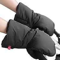gembaby Extra spessa guanti invernali impermeabili Passeggino scaldamani, mano schermo