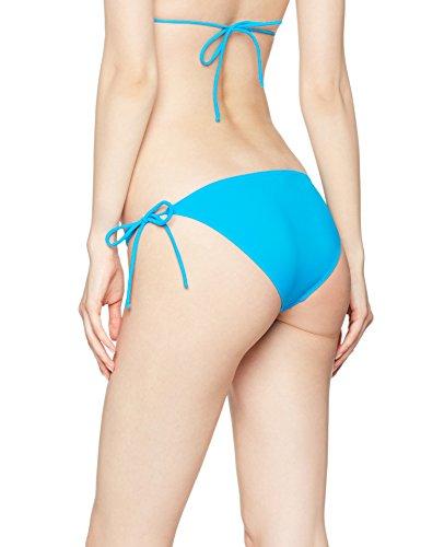 Iris & Lilly Slip Bikini con Laccetti Donna Blu (Marine Blue)