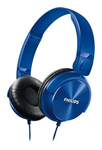 Philips SHL3060BL/00 On-Ear DJ Style Monitoring Headphones (Blue)