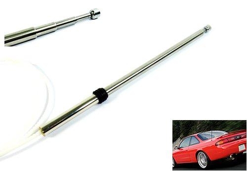 Luffy elettrico antenna Mast Tooth cavo per Nissan 200SX 240SX Maxima Terrano Infiniti G20i30J30Q45