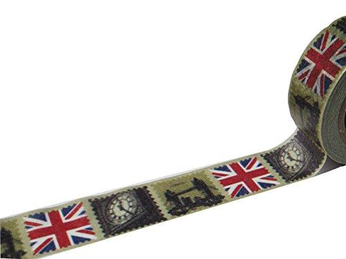 Die Ameise Masking Tape London Klebeband Papier Washi 1.5cm x 10m (Klebeband London)