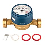 SPEWA GmbH - Contador de agua fría, 2,5cbm, 1pulgada, AG Bl. 130 mm, con mayor precisión
