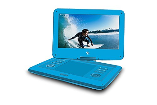 Blue : Ematic EPD136BU Personal DVD Player