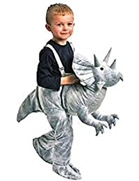 1ea78f86fd2c1 Enfants Dress Up Dinosaur (Triceratops-Grey) Costume Ages 3-7
