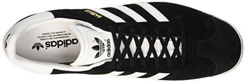 adidas Gazelle, Scarpe Running Uomo Nero (Core Black/white/gold Metallic)