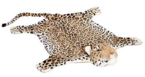 BRUBAKER Leopardenfell 200X120cm Bettvorleger Kaminvorleger