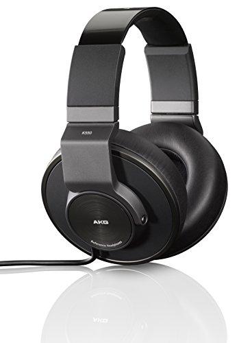 AKG-K550-Geschlossener-Hochleistungs-Over-Ear-Kopfhrer-mit-2D-Axis-Faltmechanismus-und-AKG-Referenzsound-mit-Geruschisolierung-Kompatibel-mit-Apple-iOS-und-Android-Gerten