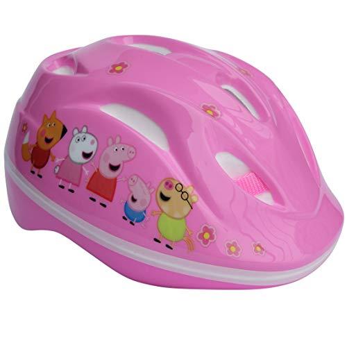 Peppa Pig Wutz Fahrradhelm Helm Sicherheitshelm Schutzhelm Kinder Kinderhelm GS