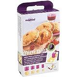Mastrad F26360 Berry - Kit para empanadas (silicona, polipropileno, ABS y acero inoxidable), color morado