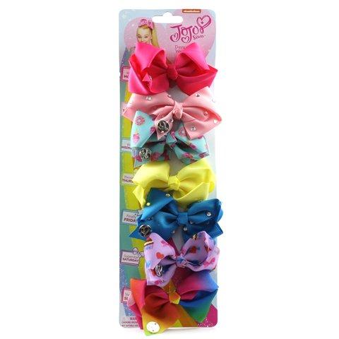 (JoJo - Jojo Girls Multi-Coloured 7 Bow Set - Größe 1 UK / 33 EU - Mehrfarbig)