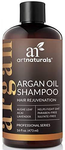ArtNaturals Arganöl Shampoo Haarwuchs Anregend - (16 Fl Oz / 473 ml) - Hair Growth Treatment - Volumen Shampoo für Haarwachstum, Haarausfall, Dünnes und Schütteres Haar - mit Aloe Vera - Sulfatfrei und Silikonfrei