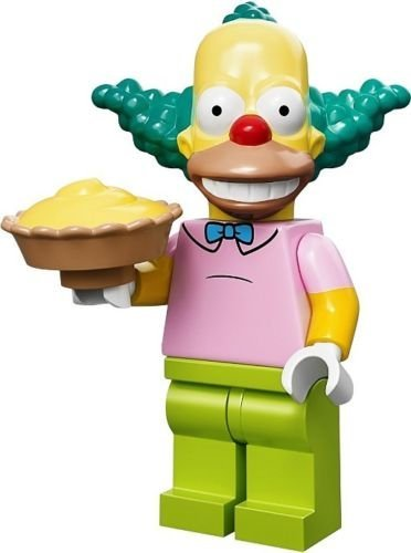 The Simpsons Lego Mini Figure Krusty The Clown