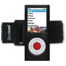 tuneband per iPod Nano 4a generazione (modello A1285, 8GB/16GB, No Fotocamera Posteriore), Grantwood Technology–Fascia da braccio, in silicone e protezione schermo