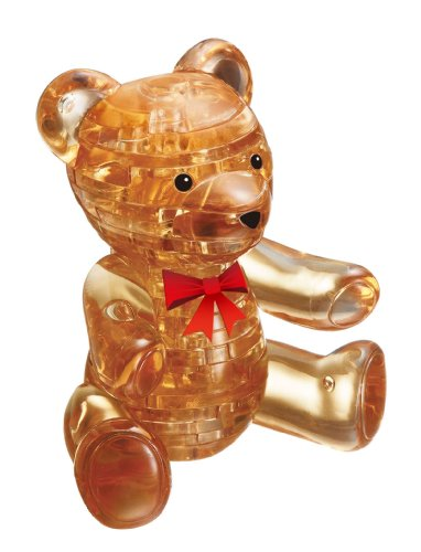 Crystal puzzle Teddy Bear Brown (japan import)