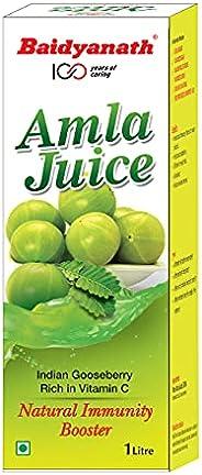 Baidyanath Amla Juice - 1L - Rich in Vitamin C and a Natural Immunity Booster