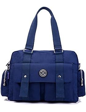 MeCooler Handtasche Damen Umhängetasche Wasserdicht Schultertasche Leichter Kuriertasche Lässige Taschen Messenger...