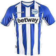 KELME Camiseta ALAVES 1ª EQUIPACION 18/19 fútbol, Unisex niños, ...