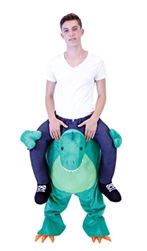Piggyback Ride On T-REX Teen Costume (Rex T Jungen Kostüme)
