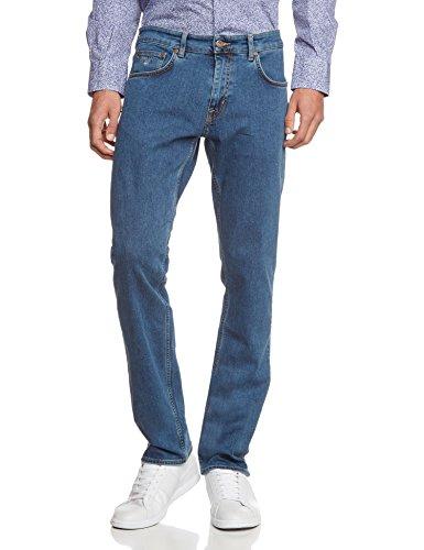 GANT Herren Straight Leg Jeanshose TYLER 11 OZ COMFORT JEAN Blau (MID BLUE 970)