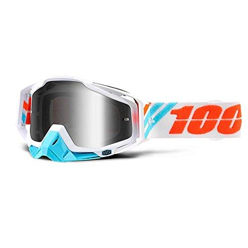 Inconnu 100% Racecraft Calculus Ice Maske-MTB Unisex Erwachsene, ()