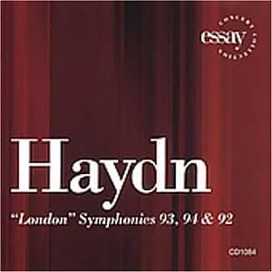 Haydn:Symphonies 93,94 & 92