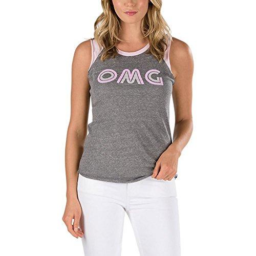Vans Carefree Muscle Raglan Girl-Top grau/rosa XS