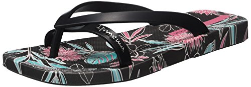 Ipanema Kirey Iii Fem, Tongs femme Multicolore - Mehrfarbig (grey black pink 8439)