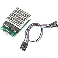 MAX7219 LED Dot Matrix Display Modul mit 5 Pin Line MCU Steuerung DIY Kit für Arduino