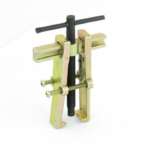 sourcing map 75mm Brass Metall 2 Fuß Zieher Werkzeug Lagerabzieher Lager für Roller Motorrad de -