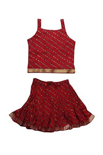 Jaipur Kala Kendra Baby Girls Casual Skirt Top Party Dress...