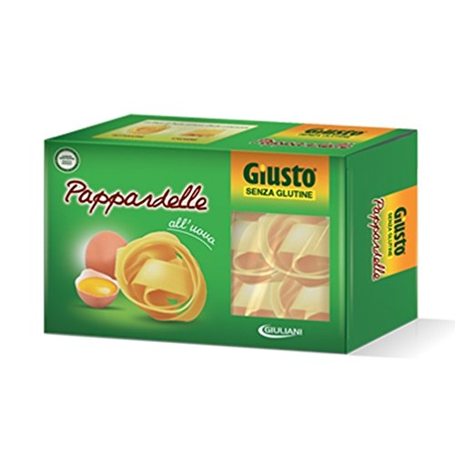 Giusto Pasta Pappardelle All'Uovo Senza Glutine 250g