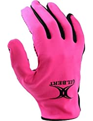 Gilbert Atomic Netball Sports Protection Des Mains Integral Thermique Gant Rose