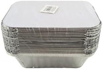 Ezee Silver Aluminium Foil Container - 750 ml (25 Pieces)