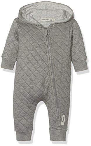 PAPFAR Baby-Jungen Bella Heavy Sweat Spieler Langarm, Grau (Dark Grey 150), 56 (Herstellergröße: 0M)