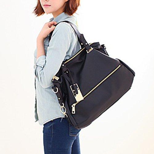Violett-GATE Tote Bag BLACK