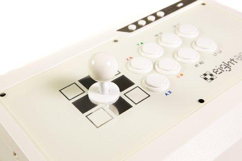 eightarc Fusion Elfenbeinfarben PS3& Xbox 360& PC Joystick (FightStick) (X Tekken Xbox Street 360 Fighter Für)