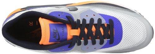 Nike Air Max 90 Essential, Baskets mode mixte adulte Blanco-Nero-Lila-Orange