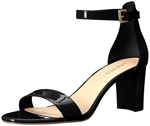 Nine West Damen Pruce Synthetic Sandalen mit Absatz, Schwarz, 42 EU (Damen Schuhe West Nine Von Für)