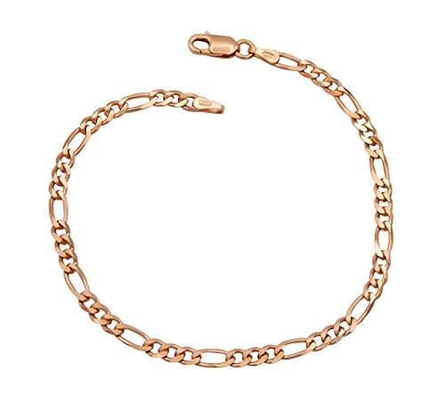 Echtschmuck Figarokette 7 Mm Massiv Echt 925 Sterlingsilber Hochglanzpoliert Halskette Verbraucher Zuerst Halsketten & Anhänger