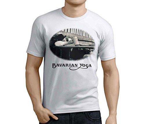 Bayern T Shirt: Bavarian Yoga-XXL