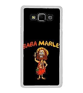 Baba Marley 2D Hard Polycarbonate Designer Back Case Cover for Samsung Galaxy A8 (2015 Old Model) :: Samsung Galaxy A8 Duos :: Samsung Galaxy A8 A800F A800Y