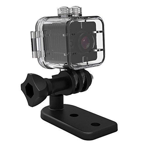 SODIAL SQ12 mini camera etanche HD 1080P DVR objectif cameras de sport mini-camescope grand angle PK SQ8 SQ9 Q11