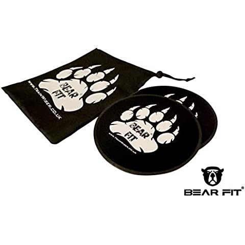 Oso ajuste–Deslizadores de Core entrenamiento conjunto kit (Juego de dos)