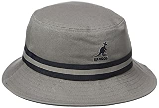 Kangol Stripe Lahinch Bob, Gris, Medium Homme (B01015P120) | Amazon Products
