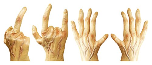 Kostüm Hand Riesen - Widmann 1815H-Paar Hände Riesen Latex