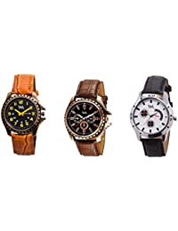 Watch Me Gift Combo Set Of Analog Watches For Men And Boys AWC-004-AWC-013-AWC-014 AWC-004-AWC-013-AWC-014omtbg